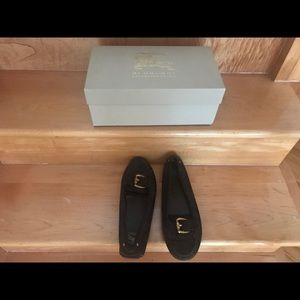 Burberry suede shoes
